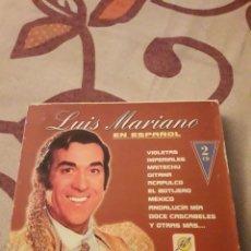 CDs de Música: DOBLE CD. LUIS MARIANO. CANTA EN ESPAÑOL. EDICION DE 2003. RARO. Lote 195046886