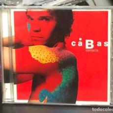 CDs de Música: CABAS CONTACTO CD CARLOS VIVES ALBUM AÑO 2003 CANTA A DUO CON BUNBURY 2 TEMAS HEROES DEL SILENCIO. Lote 195050687