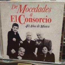 CDs de Música: DE MOCEDADES A CONSORCIO 40 AÑOS DE MUSICA DOBLE CD SONY MUSIC 2010. Lote 195051073