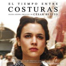 CDs de Música: EL TIEMPO ENTRE COSTURAS / CÉSAR BENITO CD BSO. Lote 212425771