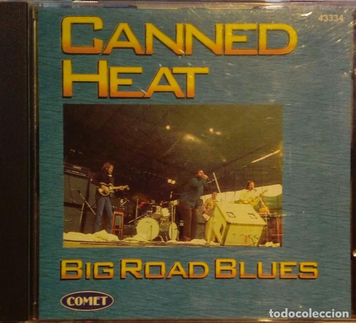 CANNED HEAT BIG ROAD BLUES CD COMET / PRESTIGE RECORDS 1997 (Música - CD's Rock)