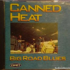 CDs de Música: CANNED HEAT BIG ROAD BLUES CD COMET / PRESTIGE RECORDS 1997. Lote 195054982