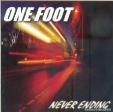 CDs de Música: ONE FOOT - NEVER ENDING (CD). Lote 195055117