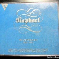 CDs de Música: RAPHAEL 30 ANIVERSARIO DOBLE CD HISPA VOX 1961-1991. Lote 195055120