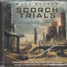 CDs de Música: MAZE RUNNER: THE SCORCH TRIALS / JOHN PAESANO CD BSO. Lote 195056345