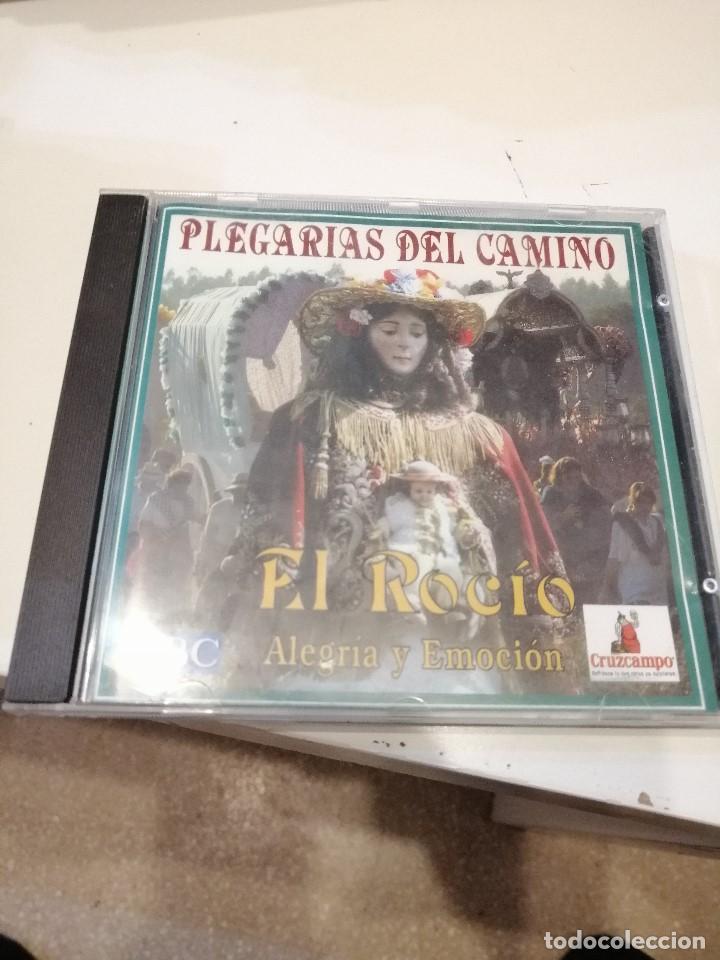 G-KUKI84 CD MUSICA EL ROCIO ALEGRIA Y EMOCION PLEGARIAS DEL CAMINO CD MANUEL ORTA CANTORES LUCIA TAT (Música - CD's Otros Estilos)