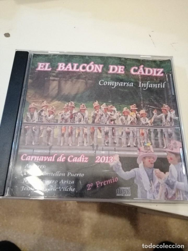 G-KUKI84 CD MUSICA EL BALCON DE CADIZ COMPARSA INFANTIL CARNAVAL DE CADIZ (Música - CD's Otros Estilos)
