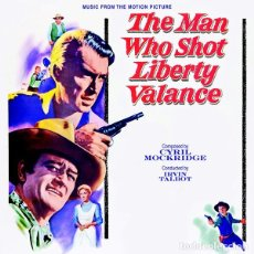 CDs de Música: THE MAN WHO SHOT LIBERTY VALANCE + DONOVAN´S REEF / CYRIL MOCKRIDGE CD BSO - KRITZERLAND. Lote 195056865