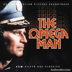 CDs de Música: THE OMEGA MAN / RON GRAINER CD BSO - FSM. Lote 195057148