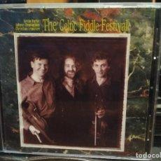 CDs de Música: THE CELTIC FIDDELE FESTIVAL KEVIN BURKE , JOHNNY CONNINGHAM , CHRISTIAN LEMAILTRE CD ALBUM 93 PEPETO. Lote 195057335