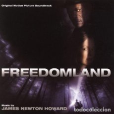 CDs de Música: FREEDOMLAND / JAMES NEWTON HOWARD CD BSO. Lote 195057358