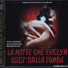 CDs de Música: LA NOTTE CHE EVELYN USCI DALLA TOMBA / BRUNO NICOLAI CD BSO. Lote 195057881