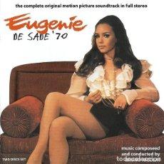CDs de Música: EUGENIE DE SADE ´70 / BRUNO NICOLAI 2CD BSO. Lote 195057991