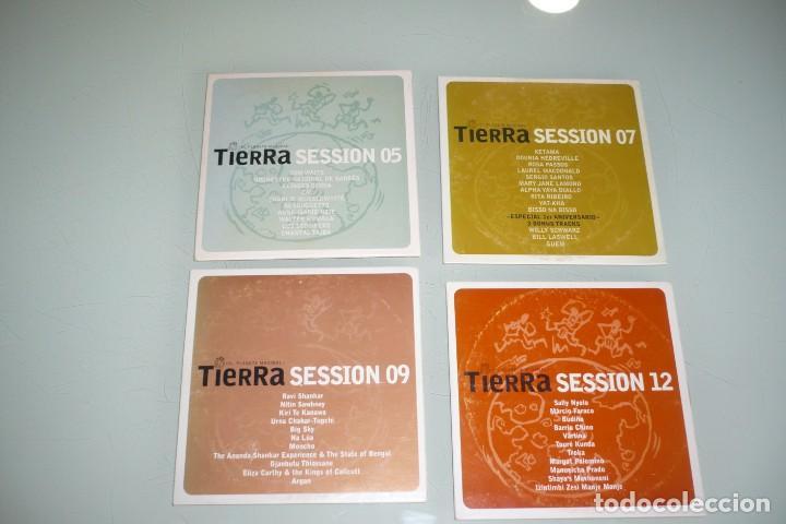 4 CDS - TIERRA SESSION - EL PLANETA MUSICAL (Música - CD's Otros Estilos)