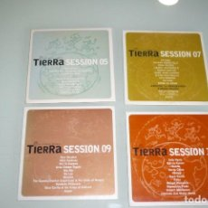 CDs de Música: 4 CDS - TIERRA SESSION - EL PLANETA MUSICAL. Lote 195058132