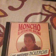 CDs de Música: MONCHO, EL GITANO DEL BOLERO. LOS MEJORES BOLEROS. EDICION DIAL DE 1993.. Lote 195062321