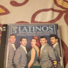 CDs de Música: DOBLE CD DE LOS 5 LATINOS. SELECCION DE SELECCIONES. EDICION DE 1999.. Lote 195062388