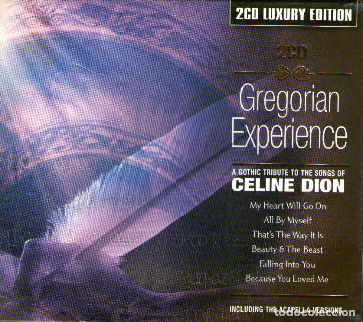 DOBLE CD ALBUM: GREGORIAN EXPERIENCE - A GOTHIC TRIBUTE TO CELINE DION - 30 TRACKS - GALAXY 2003 (Música - CD's Otros Estilos)