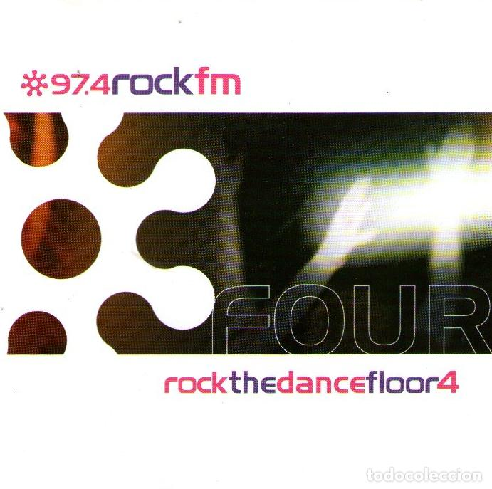 DOBLE CD ALBUM: 97.4 ROCK FM - ROCK THE DANCE FLOOR 4 - 22 TRACKS - ROCK FM - AÑO 2000 (Música - CD's Rock)