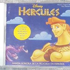 CDs de Música: CD HERCULES BSO BANDA SONORA EN ESPAÑOL. WALT DISNEY. RAREZA. Lote 195062853