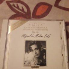 CDs de Música: MIGUEL DE MOLINA II. RAÍCES DE LA CANCION ESPAÑOLA VOL. 16. EDICION EFEN DE 1994. RARO. Lote 195062982