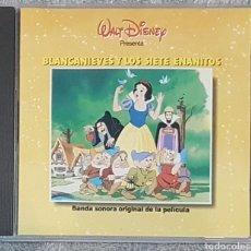 CDs de Música: CD BLANCANIEVES BSO BANDA SONORA EN ESPAÑOL. RAREZA. WALT DISNEY. Lote 195063061