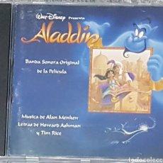 CDs de Música: CD ALADDIN BSO BANDA SONORA EN ESPAÑOL. DISNEY RAREZA. Lote 195063498