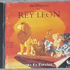 CDs de Música: CD REY LEON BSO BANDA SONORA ESPAÑOL. DISNEY.RAREZA. Lote 195063793
