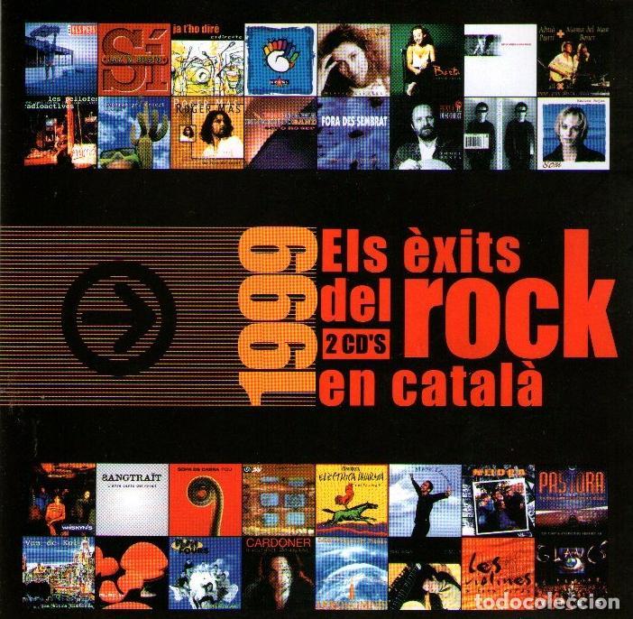 DOBLE CD ALBUM: ELS ÈXITS DEL ROCK EN CATALÁN 1999 - 34 TRACKS - DISCMEDI BLAU - AÑO 1999 (Música - CD's Rock)