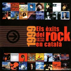 CDs de Música: DOBLE CD ÁLBUM - ELS ÈXITS DEL ROCK EN CATALÁN 1999 - 34 TRACKS - ED. DISCMEDI BLAU - 1999.. Lote 195065801