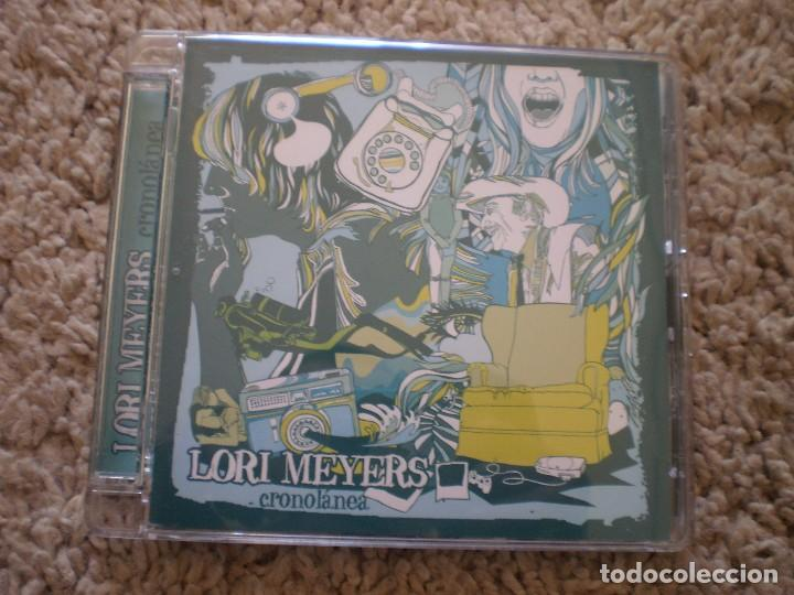 CD. LORI MEYERS. CRONOLANEA. MUY BUENA CONSERVACION (Música - CD's Reggae)