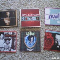 CDs de Música: CAJA 5 CD´S. ELVIS COSTELLO. MUY BUENA CONSERVACION. Lote 195072437