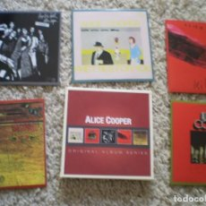 CDs de Música: CAJA 5 CD´S ALICE COOPER. MUY BUENA CONSERVACION. Lote 195075073