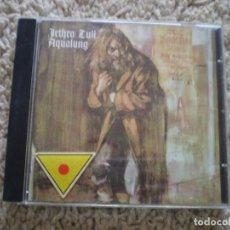 CDs de Música: CD. JETHRO TULL. AQUALUNG. LIBRETO. MUY BUENA CONSERVACION. Lote 195075901