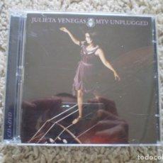 CDs de Música: CD+DVD. JULIETA VENEGAS. MTV. LIBRETO. MUY BUENA CONSERVACION. Lote 195076155