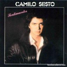 CDs de Música: CAMILO SESTO SENTIMIENTOS CD. Lote 195081036