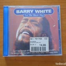 CDs de Música: CD BARRY WHITE - LET THE MUSIC PLAY (H3). Lote 195081656