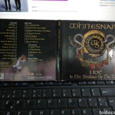 CDs de Música: WHITESNAKE DOBLE CD DIGIPACK LIVE IN THE SHADOW OF THE BLUES 2006. Lote 195083502