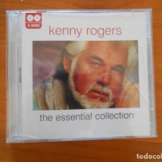 CDs de Música: CD KENNY ROGERS - THE ESSENTIAL COLLECTION (2 CD'S) (H3). Lote 195083903