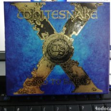 CDs de Música: WHITESNAKE CAJA BOX GOOD TO BE BAD CD + CD BONUS + PEGATINA + FOTO + PÓSTER 2008. Lote 195084315