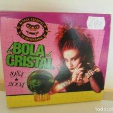 CDs de Música: LA BOLA DE CRISTAL 1984-2004. PACK ESPECIAL 20 ANIVERSARIO. 2 CD. SUBTERFUGE RECORDS. 2004. Lote 195087903