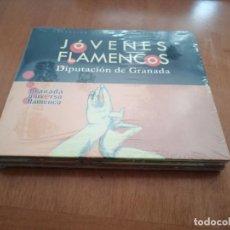 CDs de Música: JOVENES FLAMENCOS. VARIOS AUTORES GRANADINOS. PRECINTADO. SIN ABRIR. DIFICIL. Lote 195090797