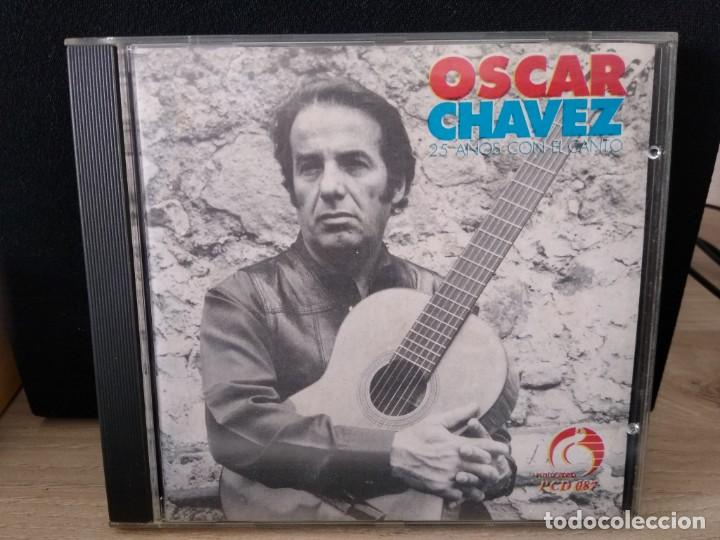 OSCAR CHAVEZ CD CANCION POPULAR MEXICANA -IMPORTADO (Música - CD's Latina)