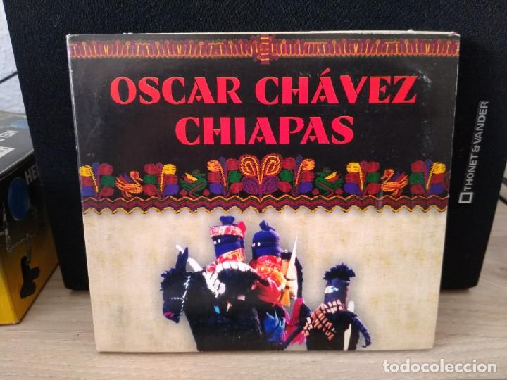 OSCAR CHAVEZ - CD CHIAPAS -CD IMPORTADO - MUSICA MEXICANA (Música - CD's Latina)