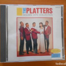 CDs de Música: CD THE PLATTERS - GOLDEN HITS COLLECTION (E4). Lote 195094210