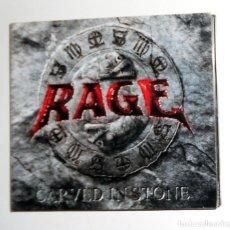 CDs de Música: CD + DVD DESCATALOGADO HEAVY METAL - RAGE - CARVED IN STONE LIVE WACKEN 2007 EN DIRECTO INTEGRO. Lote 195101802
