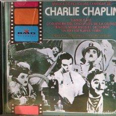 CDs de Música: CHARLIE CHAPLIN, CD MÚSICA DE SUS PELICULAS FAMOSAS.. Lote 195102772