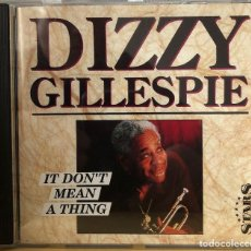 CDs de Música: DIZZY GILLESPIE CD ÁLBUM. Lote 195107385