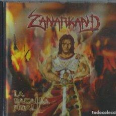 CDs de Música: ZANARKAND CD LA BATALLA,SPANISH HEAVY 2006 *RARE* MAGO DE OZ-AVALANCH-SAUROM-NOCTURNIA-EDEN. Lote 195107722