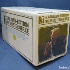 CDs de Música: KARAJAN-EDITION - 100 MEISTERWERKE - 25 CD. Lote 195114651